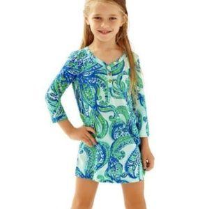 Lilly Pulitzer Girls Mini Palmetto Dress Cotton